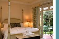 Luxury deluxe rooms Franschoek country house