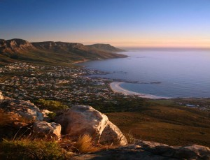Cambs Bay and Atlantic coastline Cape Town