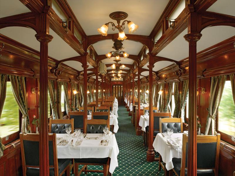 Rovos Rail Dining Car