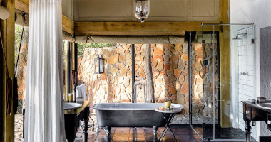 Singita ebony bathroom kruger safari