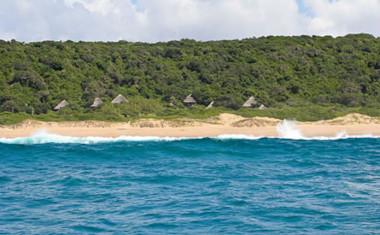 Thonga Beach resort setting