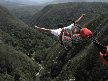 Storms river bungy jump