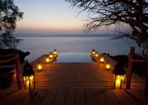 villa quilalea plunge pool mozambique
